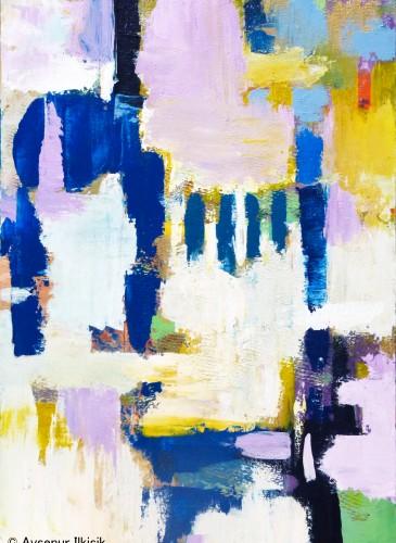 'Volume of Nobility'  2014  70x100 cm  Acrylic & Mixed Technique on Canvas