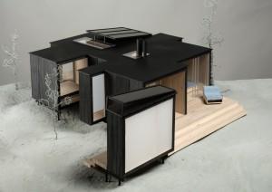 Maison d'été préfabriqué, projet d'Anis Souissi 2008