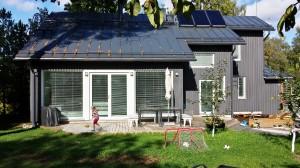 Maison passive écologique en bois a Helsinki, projet d'Anis Souissi avec Pia Ilonen 2013