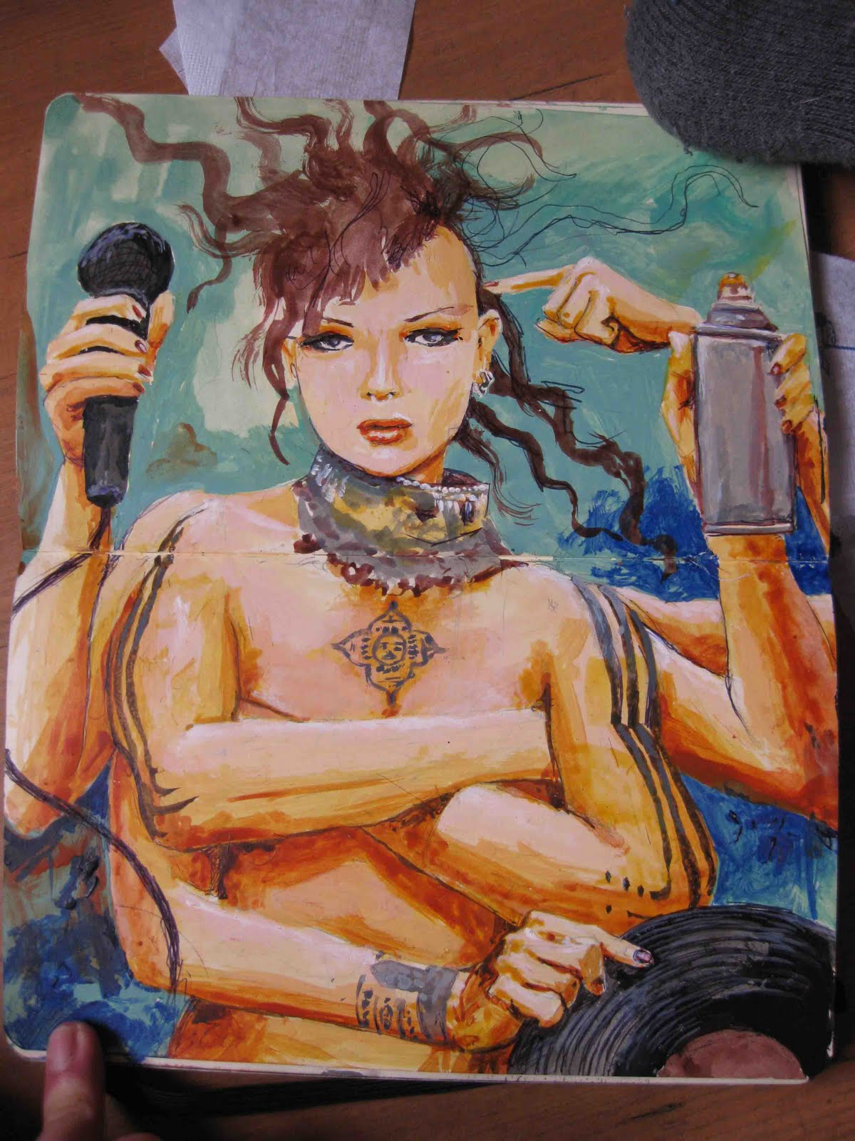 El Niño de las Pinturas & Street Art à Grenade