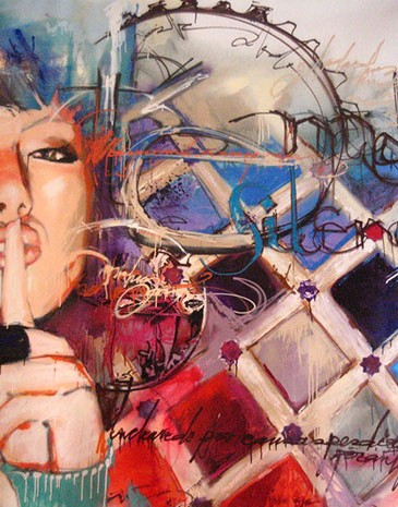 Exposition Que personne te silence, Pupa Tatto Grenade