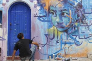 Festival des arts de la ville Assilah, Maroc 2013