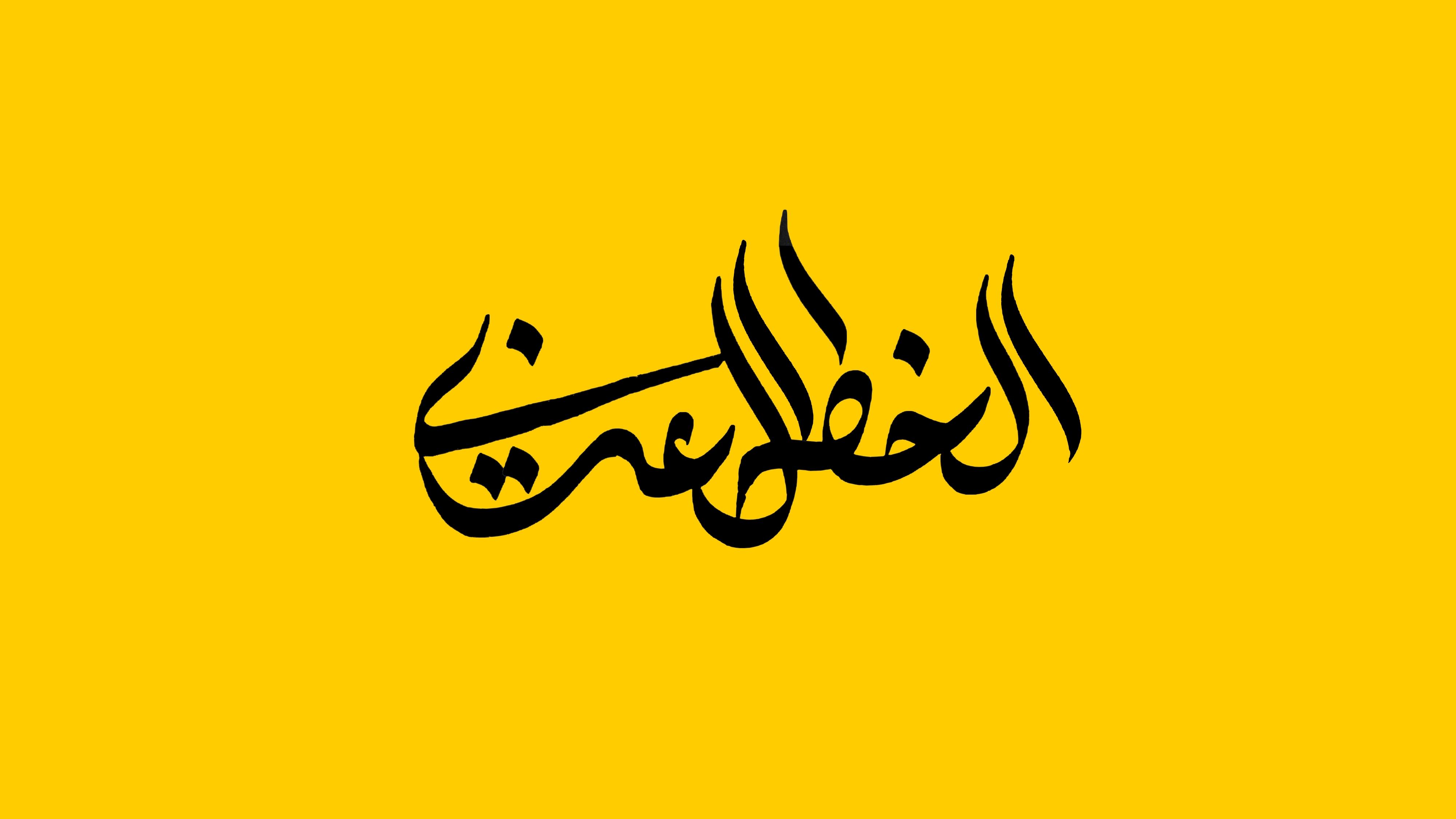 "Calligraphie ""Style"" par Shaker Kashgari"