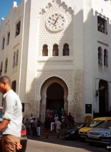 Bâtisse mauresque, une preuve de l'influence locale sur l'architecture coloniale