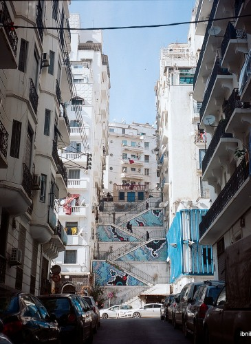 Une touche de couleur à Alger centre