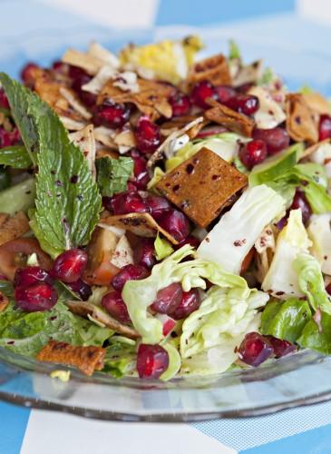 Fattoush Salad -Comptoir Libanais Soho -_ Michael Franke_MG_5567