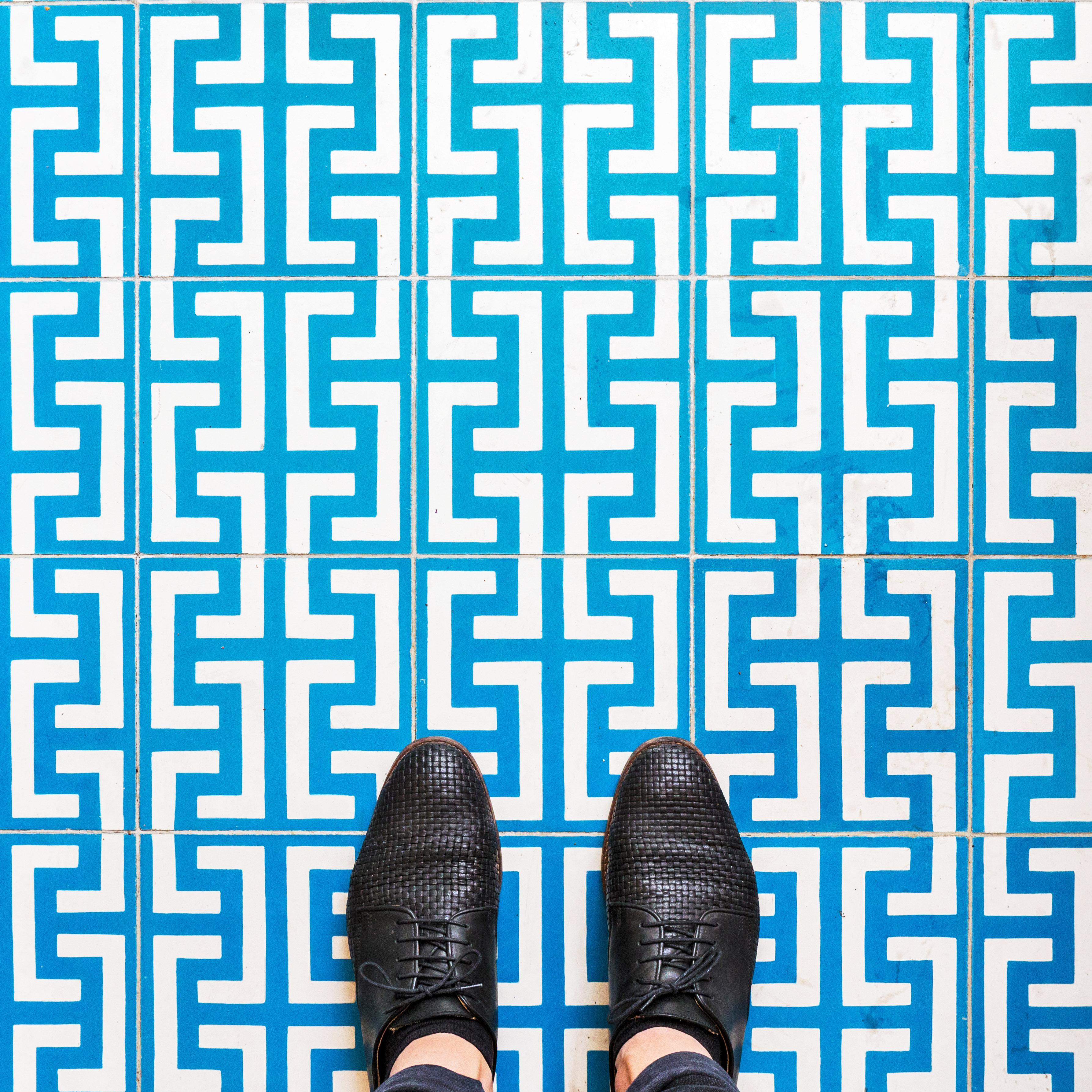 """Parisian Floors"", A Creative Walk in Paris"