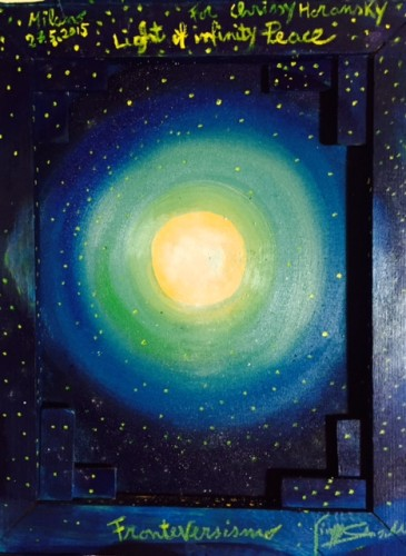 Light of infinity Peace (Back) © Giuseppe Siniscalchi
