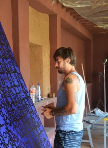 Tarek Benaoum _ Jardin Rouge _ montresso art foundation (13)