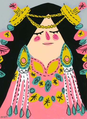 Taibetan Girl-Nargol-Arefi copy