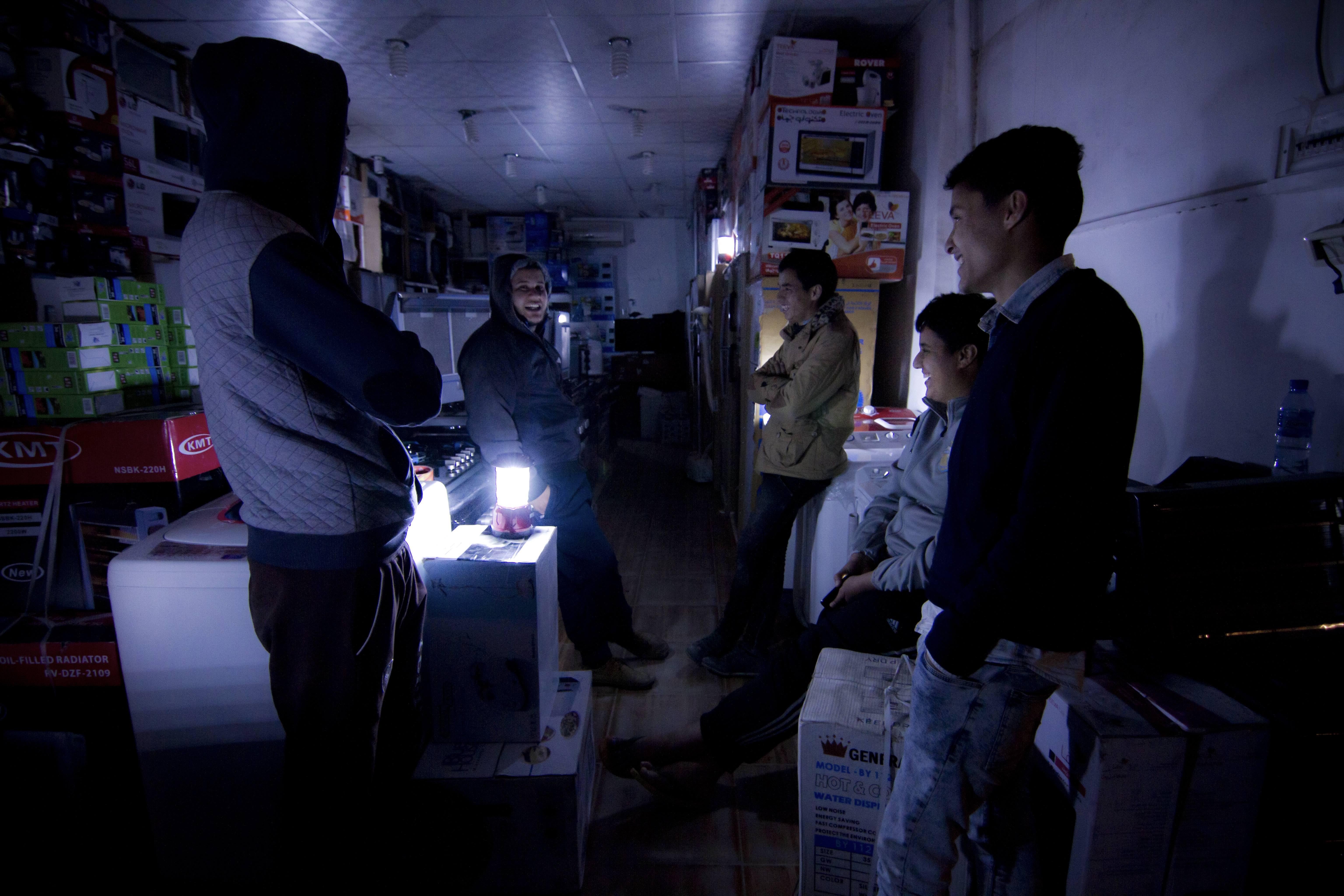 """Light Conflict"" en Libye vu par Naziha Arebi"