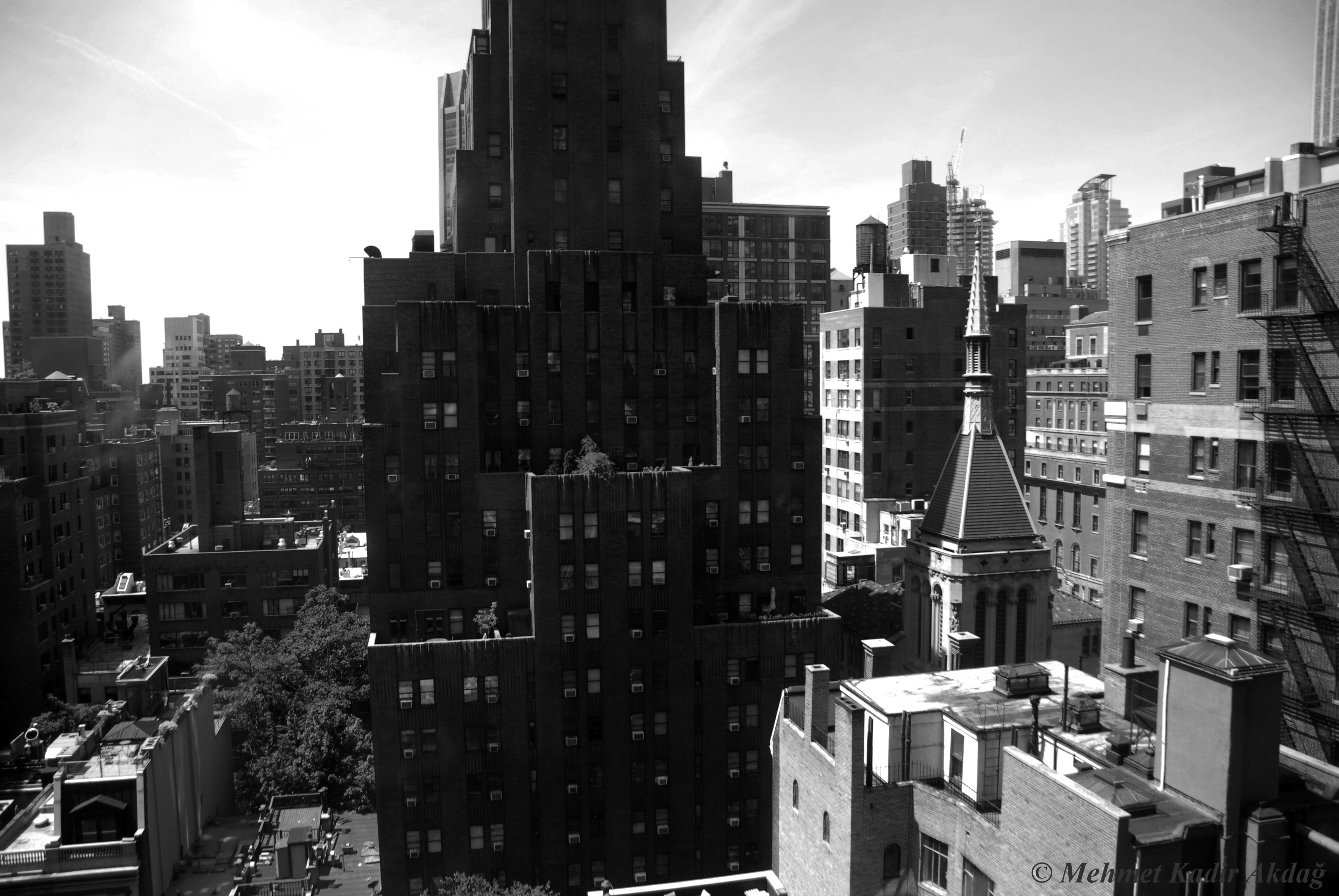 Frénésie de New York par Mehmet Kadir Akdağ