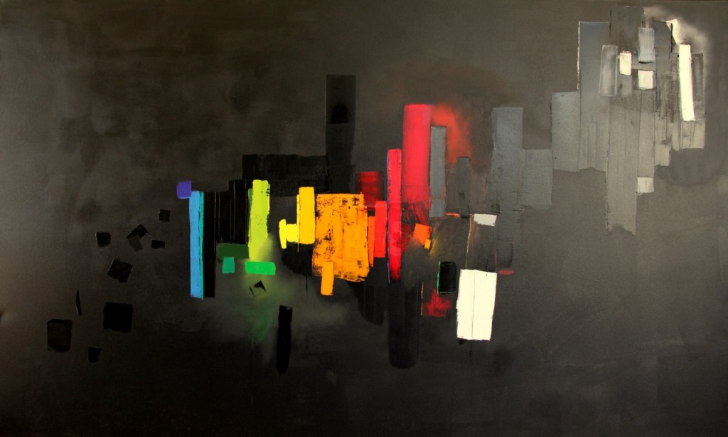 selective perception, 130x200 cm, 2011