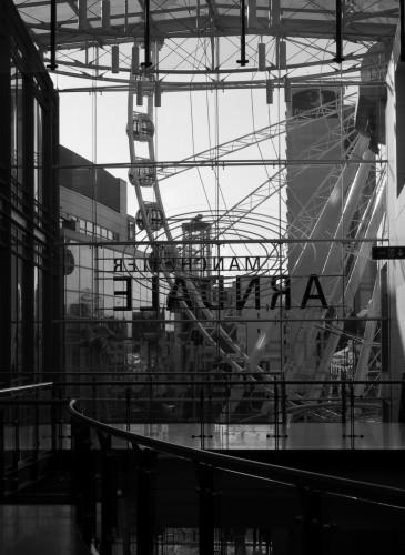 empty mall Manchester