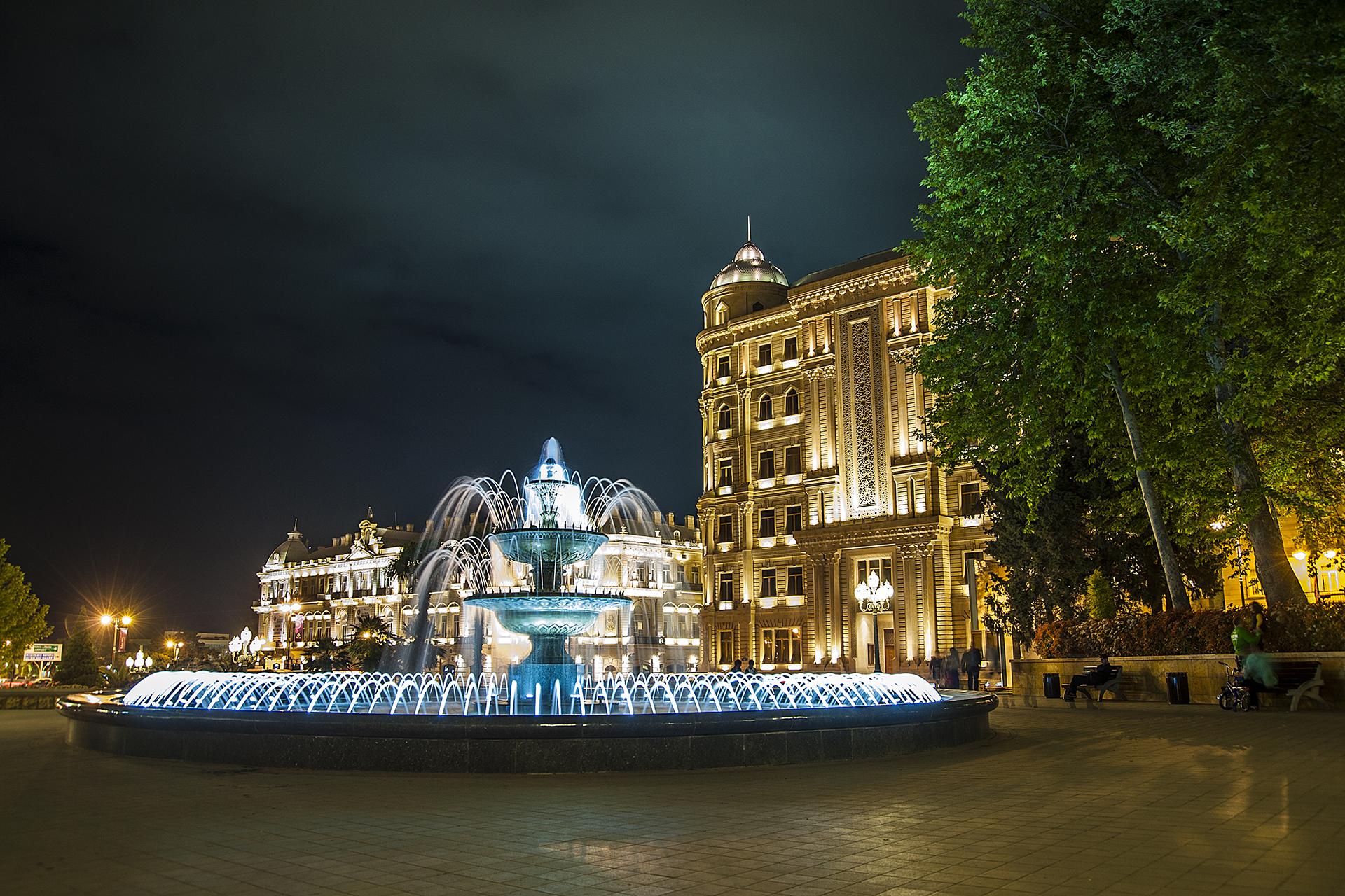 Voyage à Bakou en Azerbaïdjan par Eldar Fazraliyev
