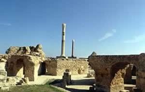 Les Thermes d'Antonin à Carthage