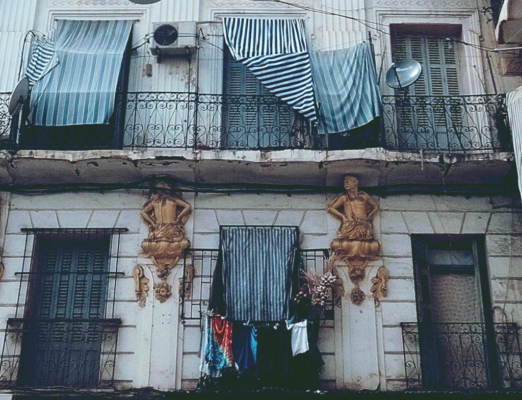 Détails de façade, Bab El Oued - Alger