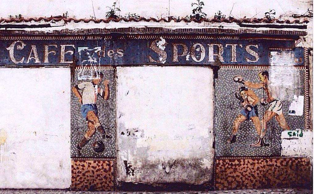 Café des sport Mosaïque, basse casbah - Alger