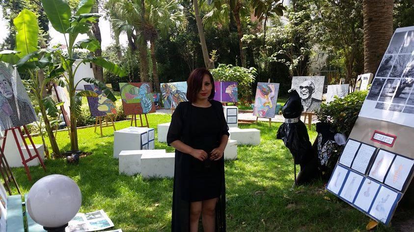 Hasnae Lachgar, artiste