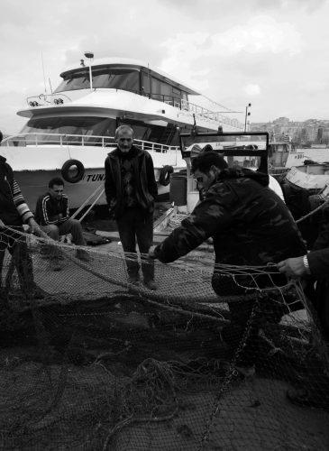 Fishermen in Fener