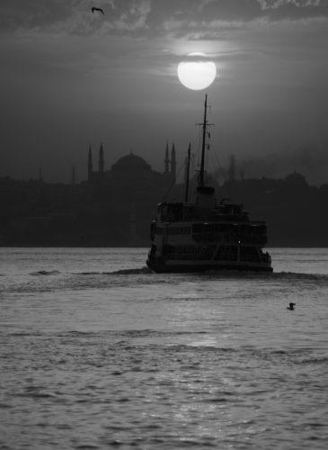 Sunset over Sultan Ahmet