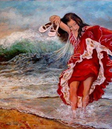 bailando-con-las-olas-peinture-disabelle-jacq-gamboena