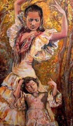 primavera-flamenca-peinture-disabelle-jacq-gamboena