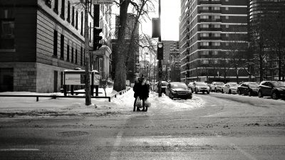 A stopover in the streets of Montreal by Calgar C