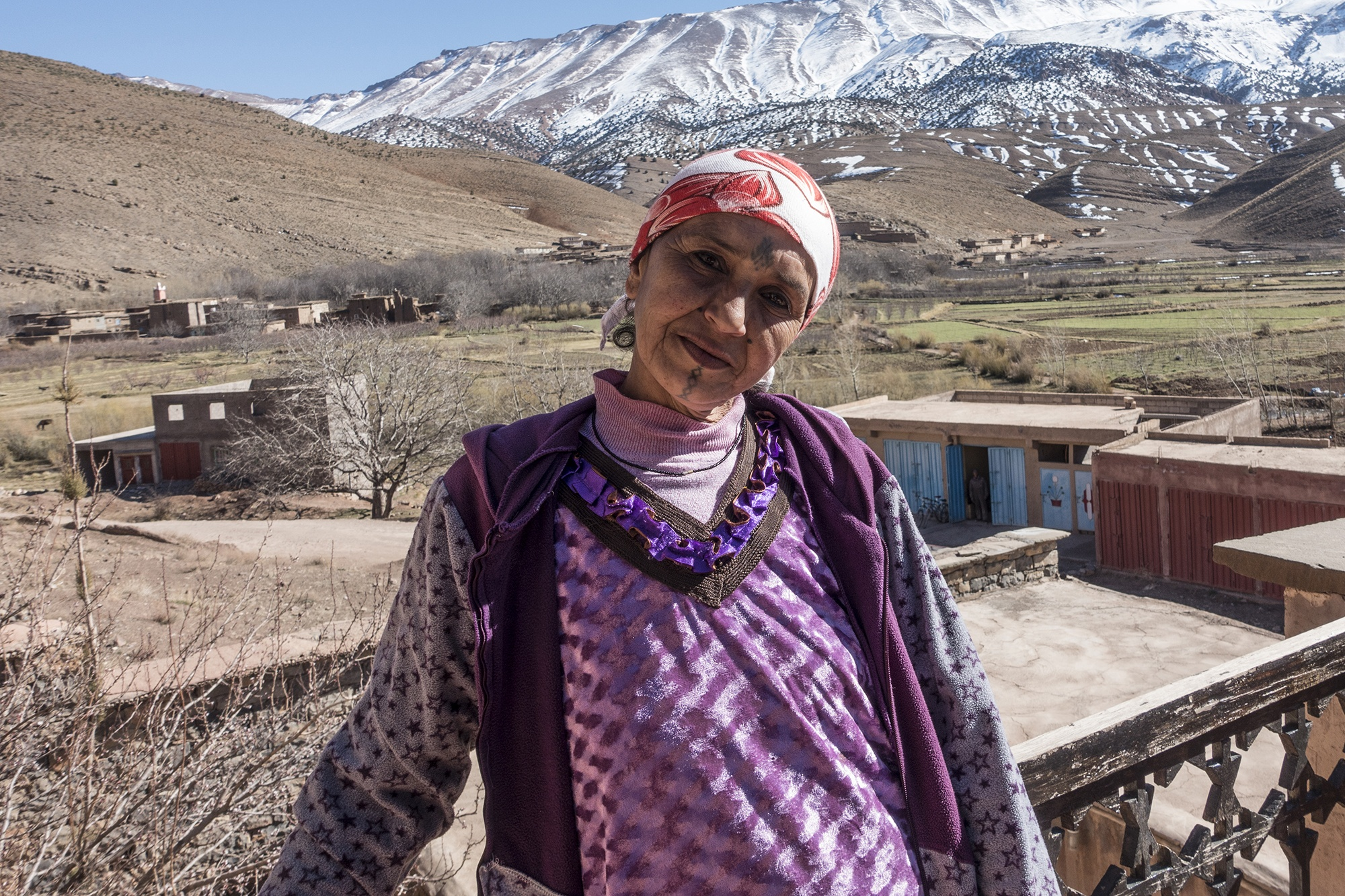 04_ Aicha from Zauiat Ahensal – Her tattoo is the only memory of her mother