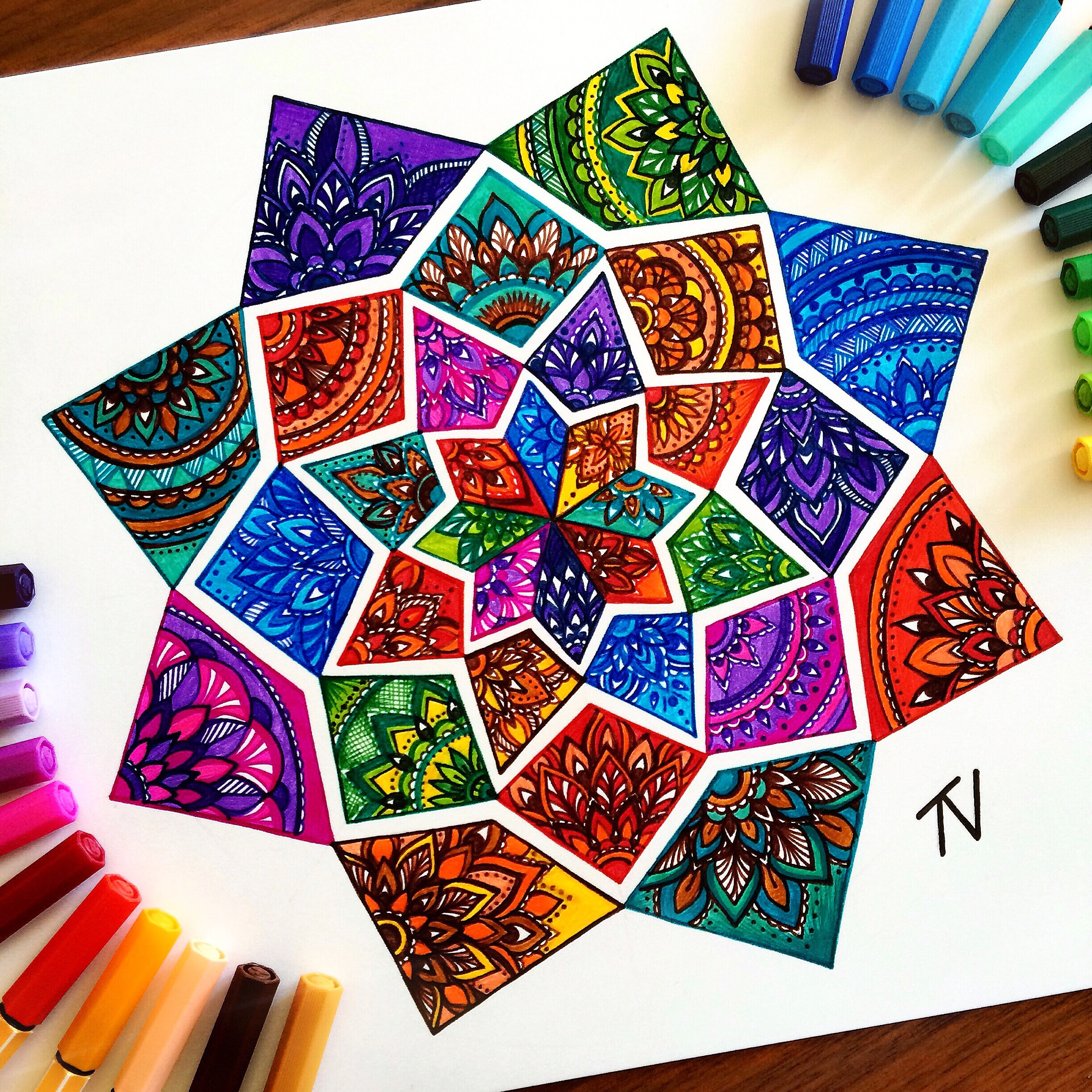 The vibrant art of mandalas by Nigar Tahmazova
