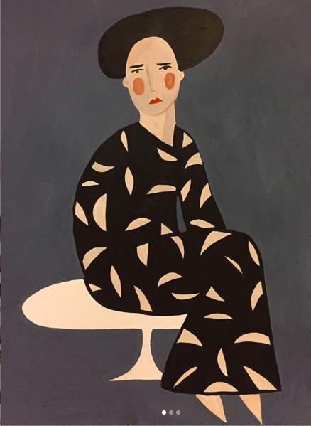The artistic journey of Amina Burloiu.