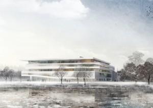 1er prix concours international avec l'agence JKMM Architectes- nouveau campus, Université de Jyvalêskyla, Finlande 2013