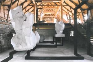 Conversion d'une ancienne étable en galerie d'art, Lovisa, Finlande Anis Souissi, chef de projet avec l'agence Siren Architects 2012.