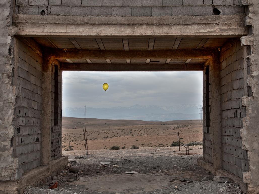 """Optimism Ahead"" Voyage de Malika Sqalli"