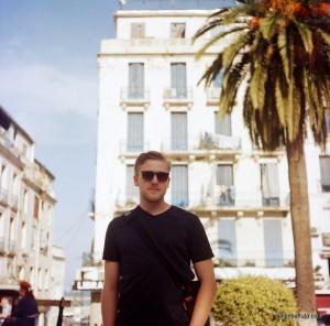 Andrew Farrand, Place de l'Emir Abdelkader, centre d'Alger
