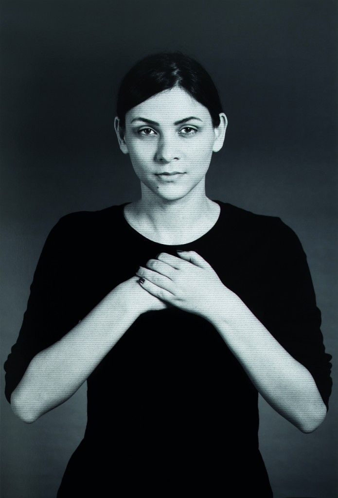 Shirin Neshat, Mahira, from The Home of My Eyes series, 2014-2015. Copyright Shirin Neshat. Courtesy of the artist and Gladstone Gallery, New York and Brussels