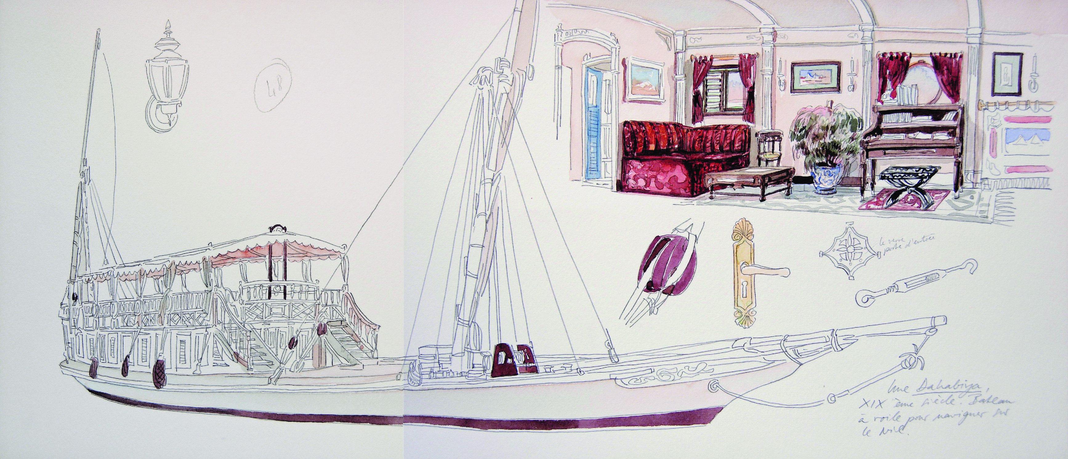 Yers Keller, Peintre Voyageur