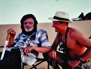 Théodore Monod et Yers Keller au Tchad