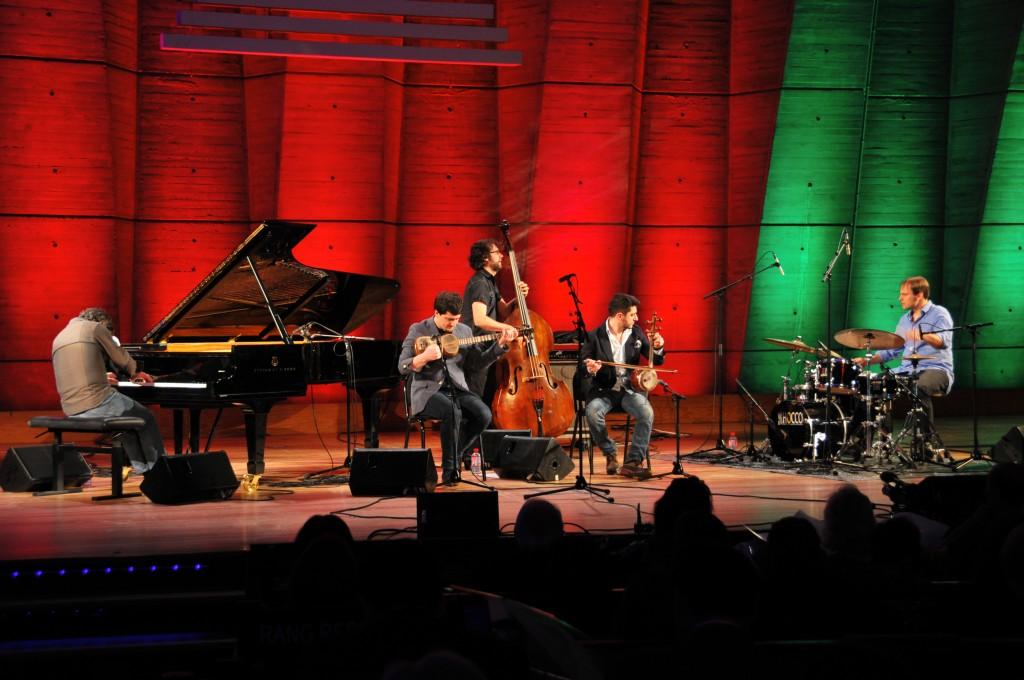 Concert de l'orchestre Jazz de Chaïn Novrasli