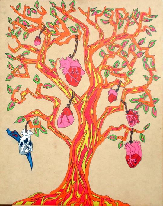 """Au coeur"" de l'Art de Khawla Darwish"