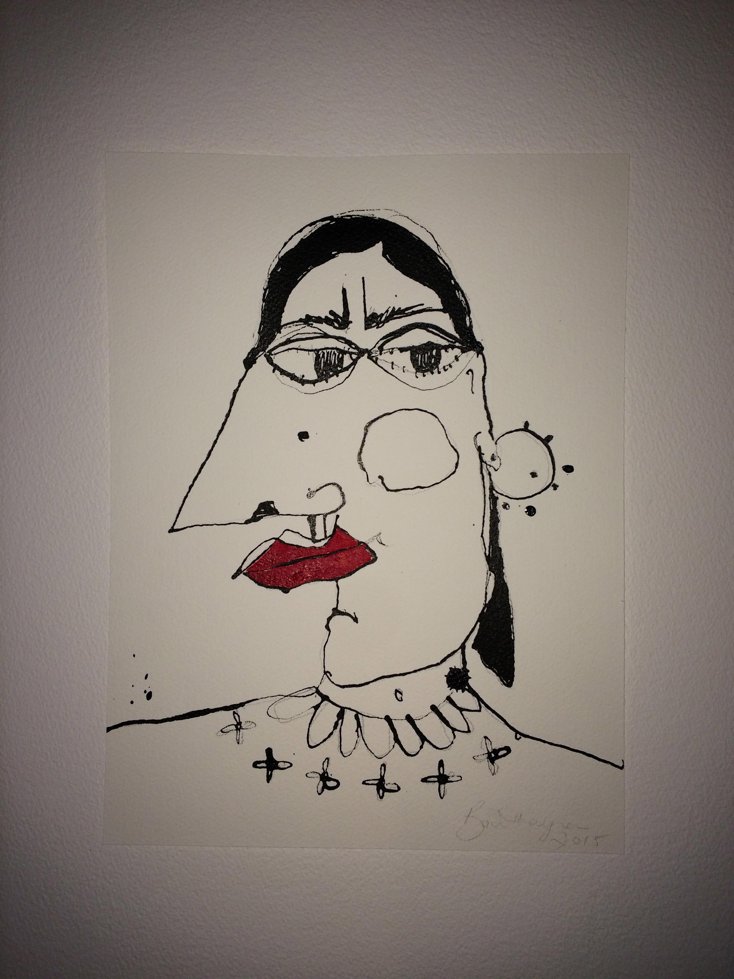 """Dans """"L'Abstrait"""" de Bouthayna Al Muftah"""