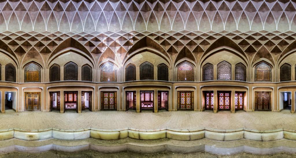 Pavillon Dolat à Yazd, Iran - panorama © Mohammad Reza