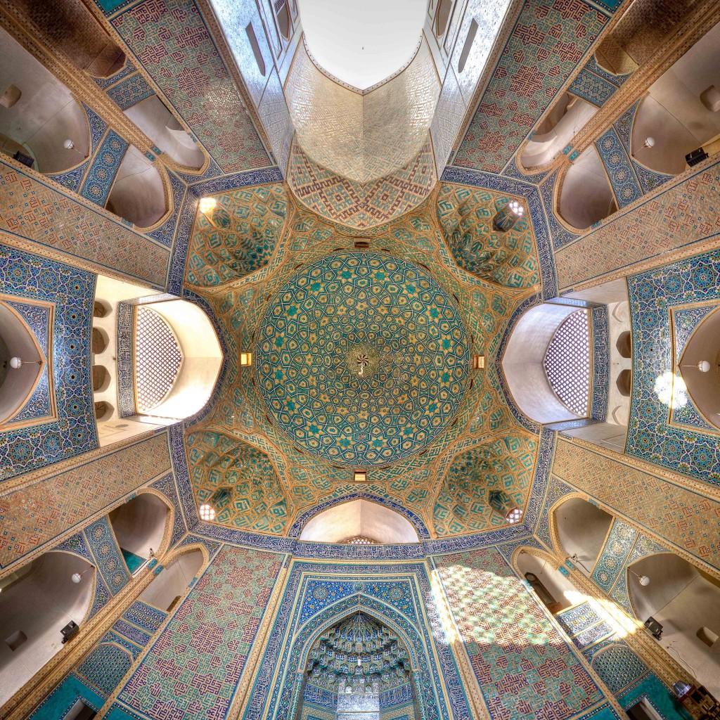 Mosquée Jameh de Yazd, Iran. © Mohammad Reza