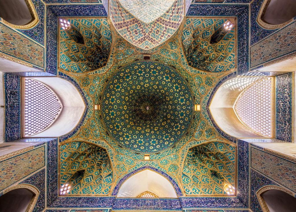 Mosquée Jameh de Yazd, Iran © Mohammad Reza