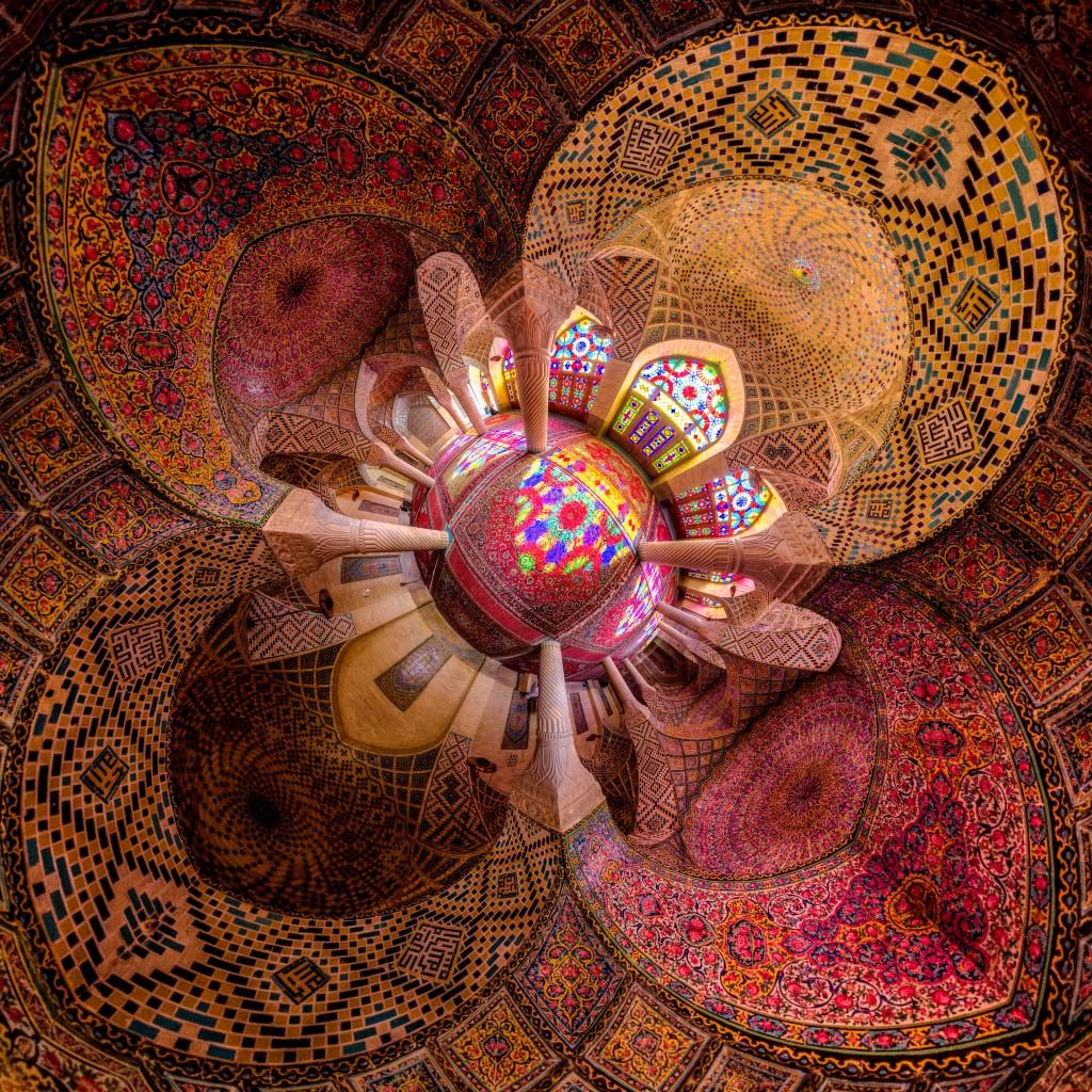 La Mosquée Rose ou Nasir-al mulk © Mohammad Reza