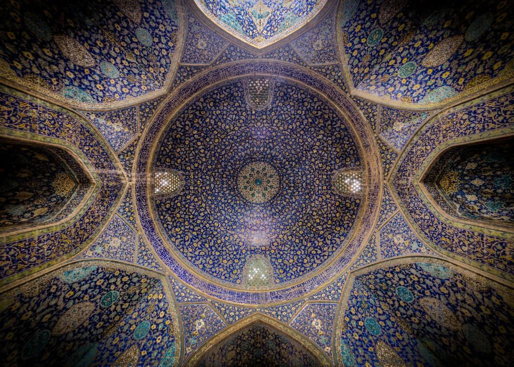 Mosquée Shah, Isfahan. © Mohammad Reza