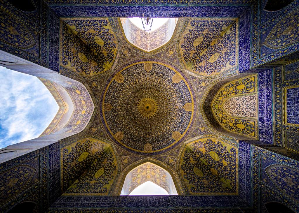 Mosquée Shah, Isfahan aussi connue sous le nom Mosquée Emam © Mohammad Reza