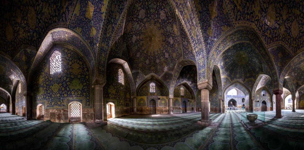 Mosquée Shah, Isfahan panaroma © Mohammad Reza