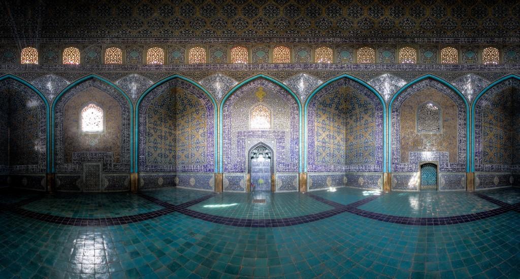 Mosquée Sheikh Luftollah-panaroma © Mohammad Reza