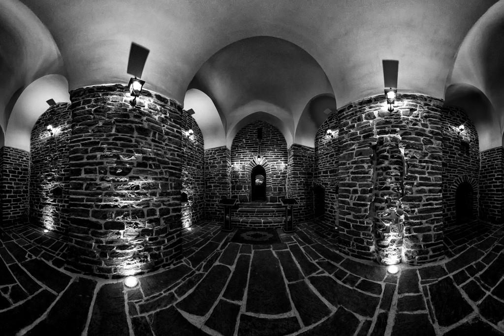 Eglise Sacrée Marie, un des lieux les plus sacrés et historiques datant du 1er siècle, situé à Urmia dans l'ouest de l'Iran. © Mohammad Reza